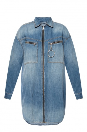 Oversize denim shirt od Diesel