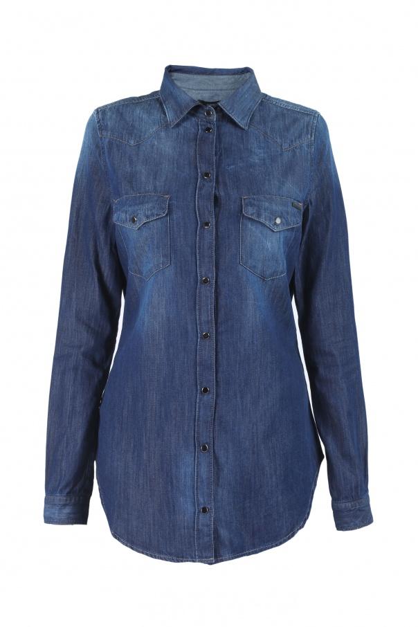 fa51dbc951d Denim Shirt Diesel - Vitkac shop online