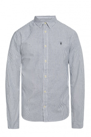'delmont' striped shirt od AllSaints