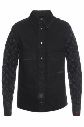 Denim shirt with holes od Vivienne Westwood