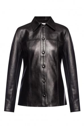 Leather shirt od Ami Alexandre Mattiussi