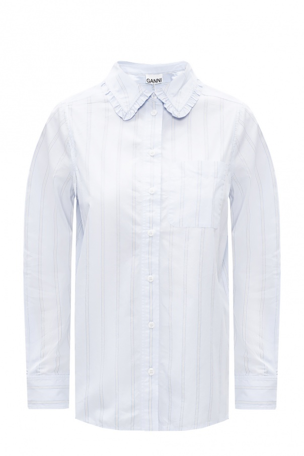 Ganni Chest pocket shirt