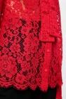 Dolce & Gabbana Self-tie openwork shirt
