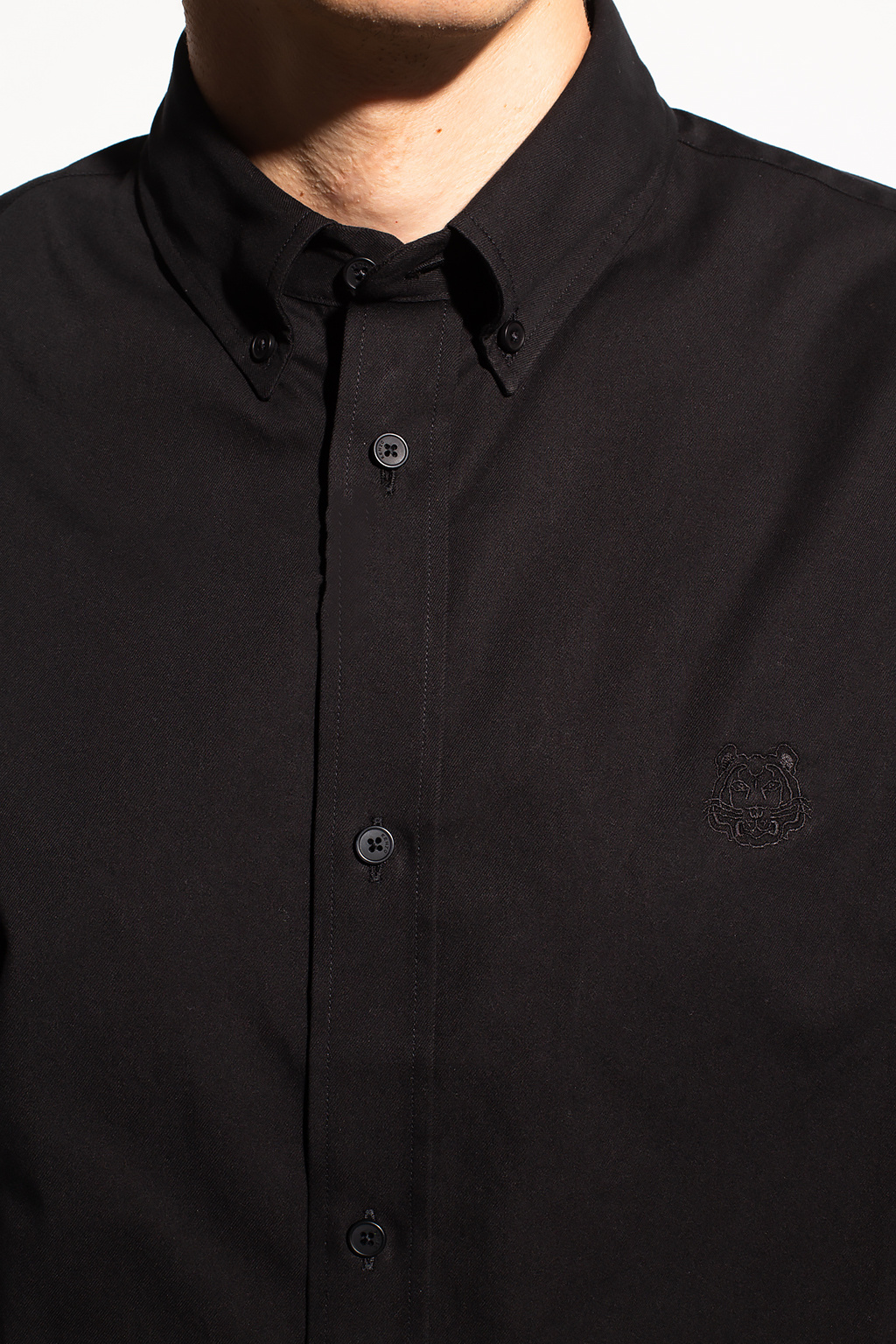 Kenzo logo衬衫