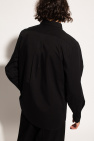 Kenzo Logo-patched cotton shirt