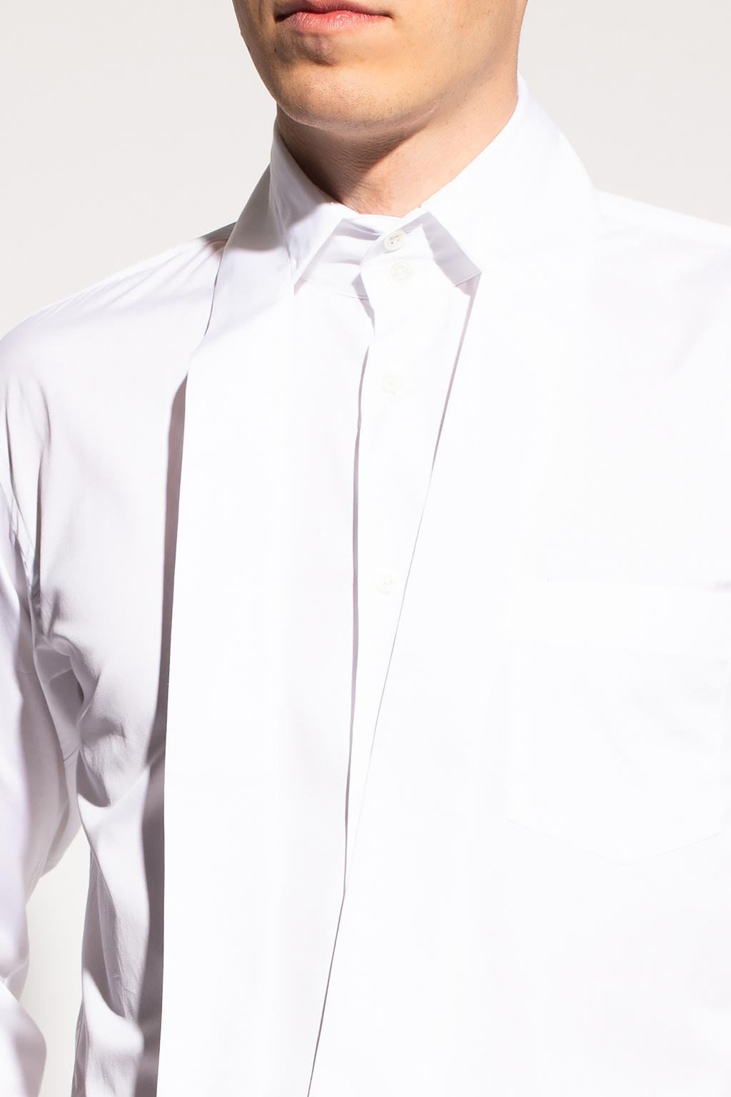 Comme des Garcons Shirt Tie-up shirt