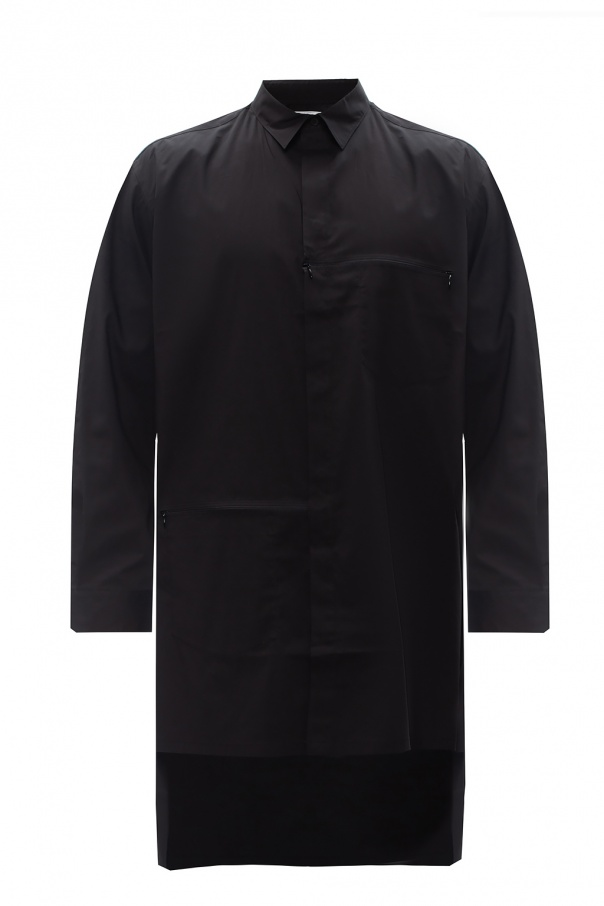 Y-3 Yohji Yamamoto Long-line shirt