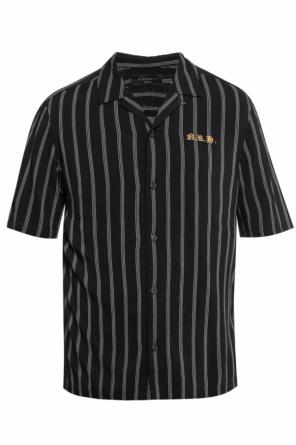 'folsom' striped shirt od AllSaints