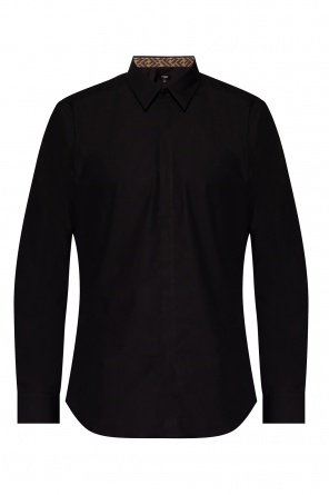 Shirt with concealed placket od Fendi
