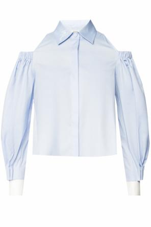 Openwork shirt with vents od Fendi