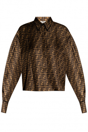 Shirt with logo od Fendi
