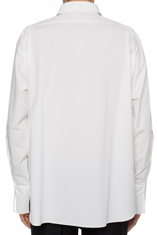 Pleated bib shirt od Golden Goose