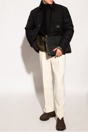 Down jacket with logo od Dolce & Gabbana