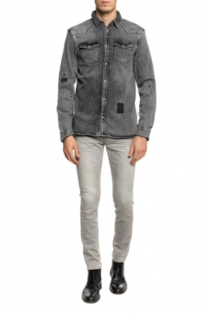 'glockeley' denim shirt od AllSaints