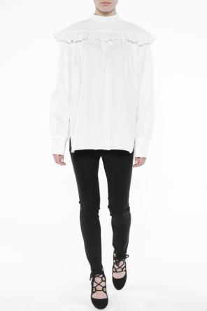 Band collar blouse od Helmut Lang