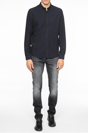 Shirt with pocket od Ami Alexandre Mattiussi