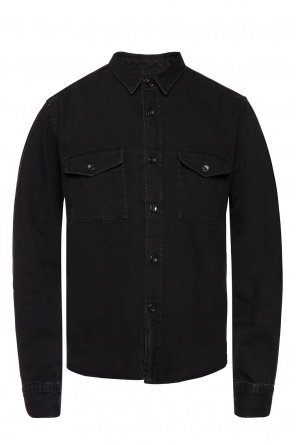 Denim shirt with pockets od Ami Alexandre Mattiussi