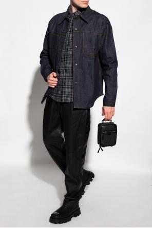 Denim shirt with pockets od Ami Alexandre Mattiussi