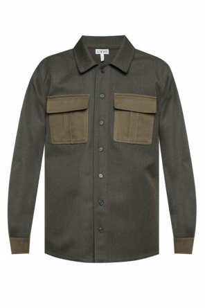 Wool shirt  with pockets od Loewe