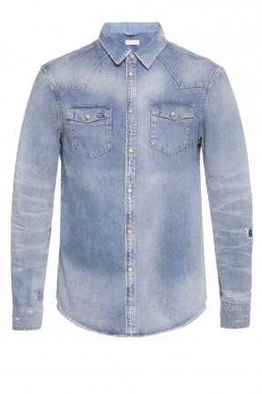 'ilex' denim jacket od AllSaints