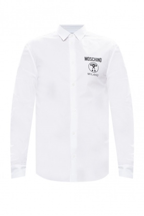 Shirt with logo od Moschino