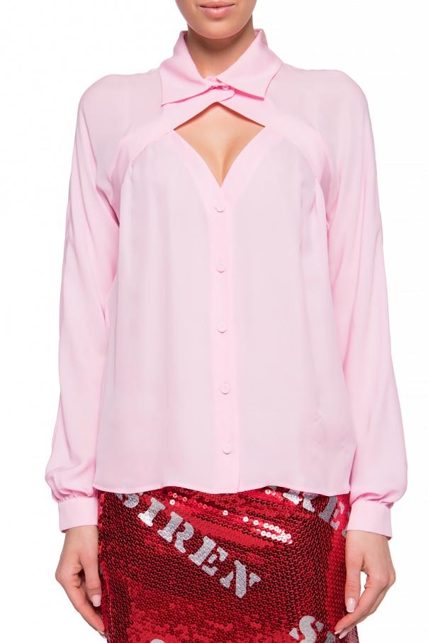 Moschino Koszula z wycięciem cQXuLzEu