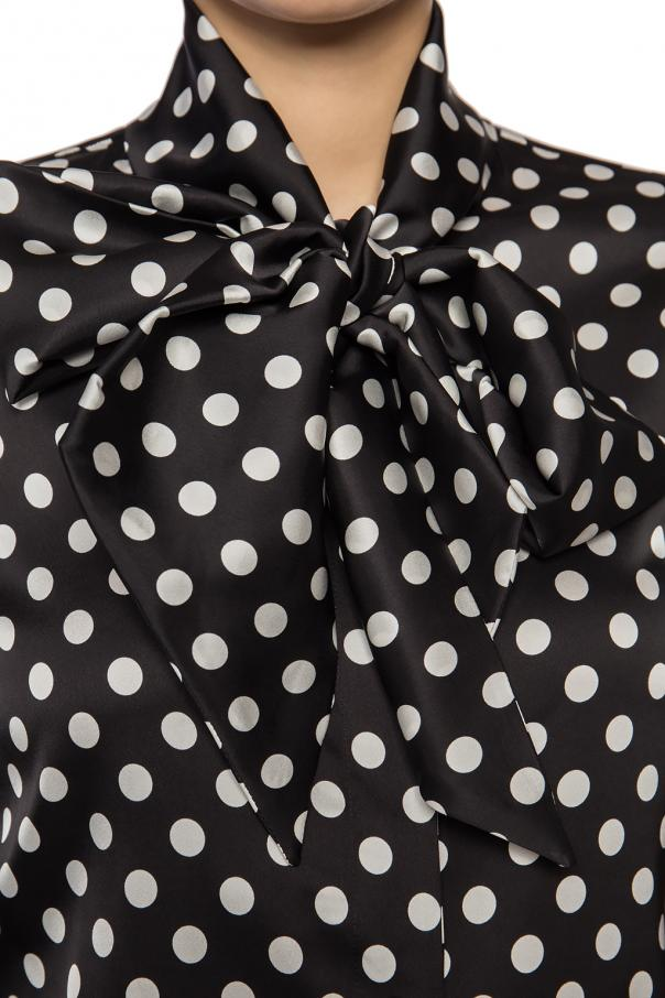 Tie neck shirt od Moschino