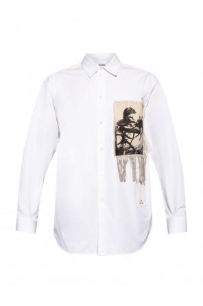 Appliquéd shirt od JIL SANDER