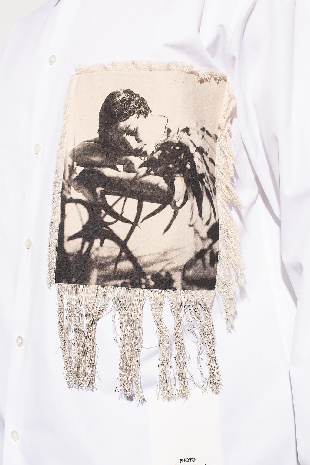 JIL SANDER Appliquéd shirt