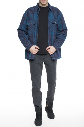 Checked jacket od Yeezy