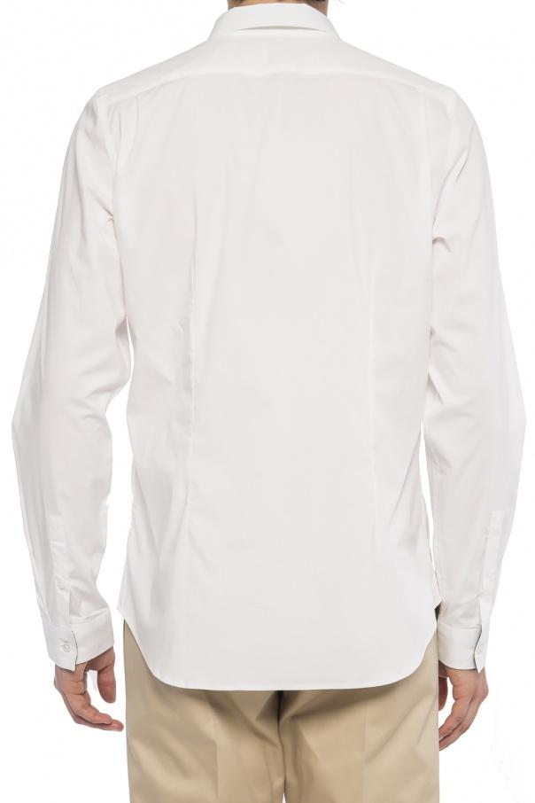 PS Paul Smith Koszula z krytą plisą K99pr6gt