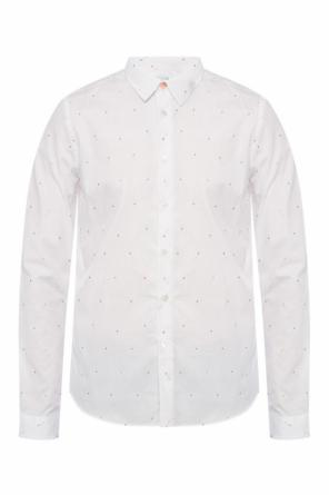 Shirt with embroidered pattern od Paul Smith