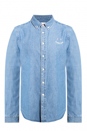 Denim shirt with logo od PS Paul Smith