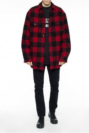 Oversize checked jacket od Vetements