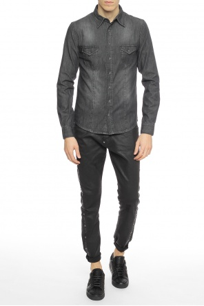 Denim shirt with snap buttons od Philipp Plein