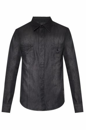 Logo-embroidered shirt od Philipp Plein