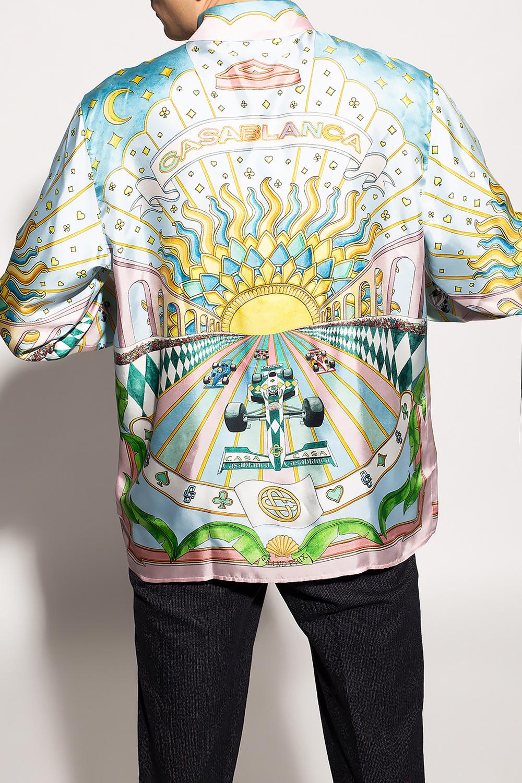 Casablanca Silk shirt with logo