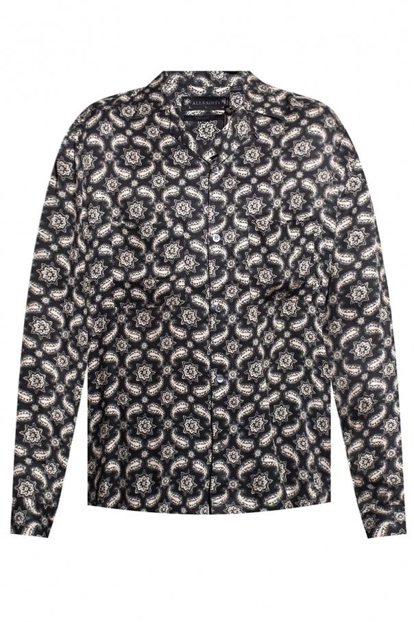 AllSaints 'Mitte' patterned shirt