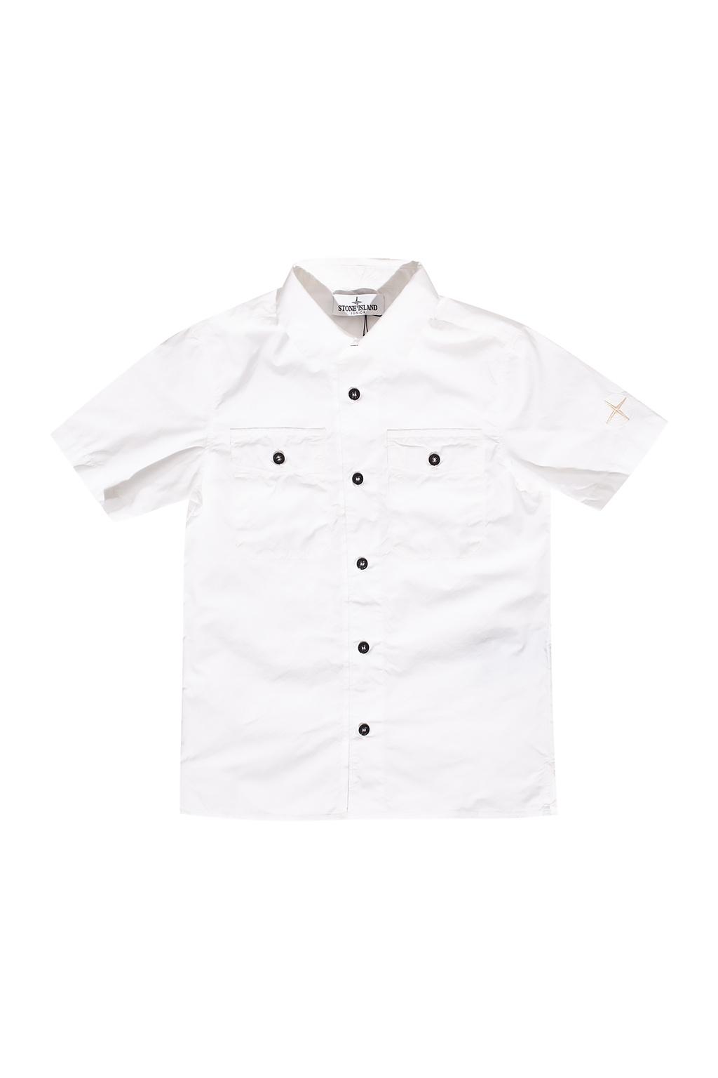 Stone Island Kids Short sleeve shirt