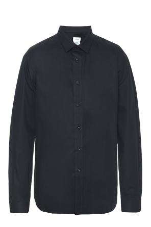 Raw-trimmed asymmetric shirt od Vetements