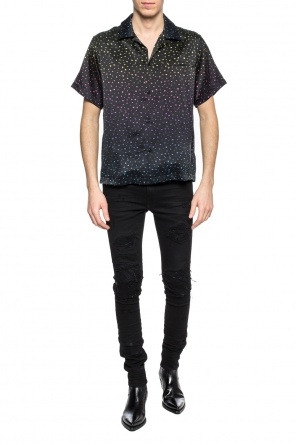 Polka dot silk shirt od Amiri