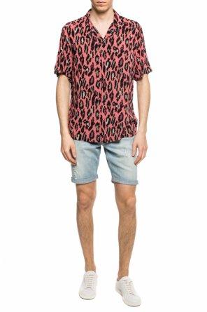 84fd31cc319  ocelot  patterned shirt od AllSaints   ...