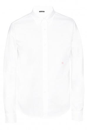 Logo-embroidered shirt od Acne