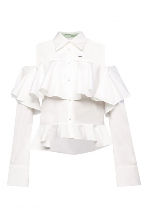 Ruffle shirt od Off White