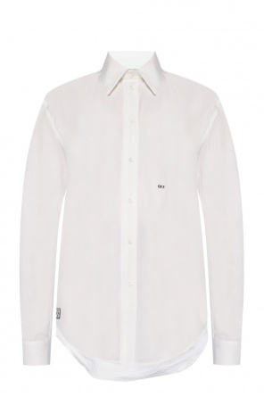 Logo-embroidered shirt od Off White