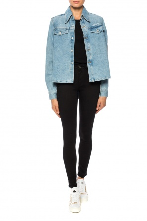 Cut-out denim shirt od Off White