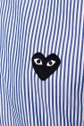 Comme des Garcons Play Patched shirt