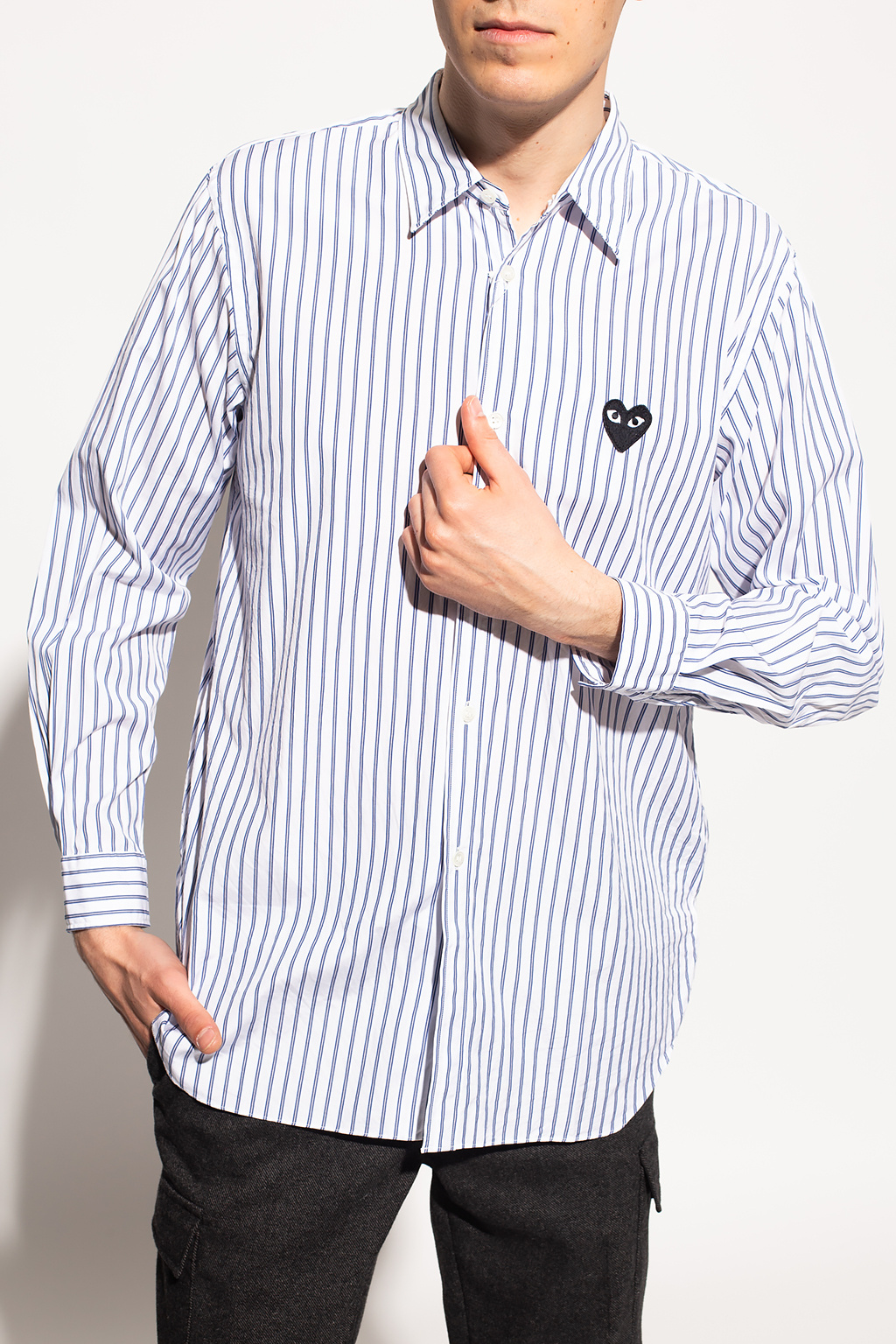 Comme des Garcons Play Shirt with logo