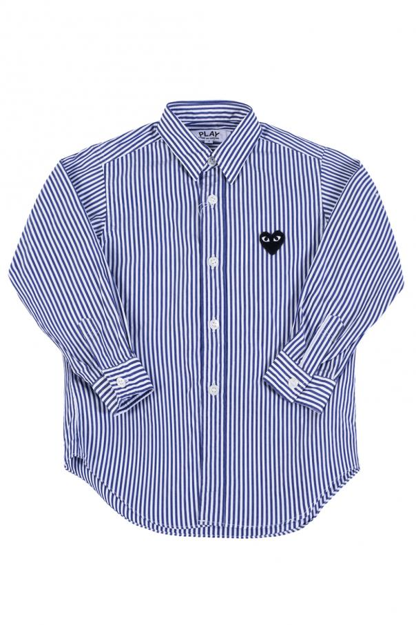 Comme des Garcons Play Kids Striped shirt