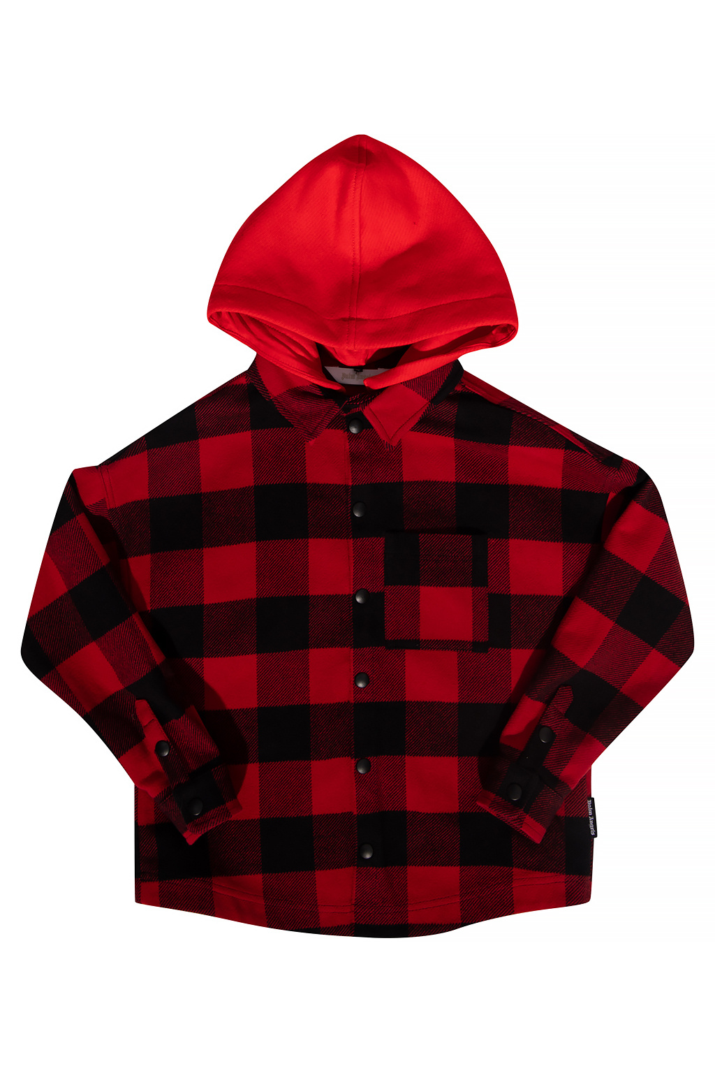 Palm Angels Kids Checked jacket